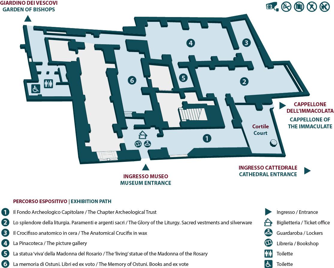 Mappa Museo